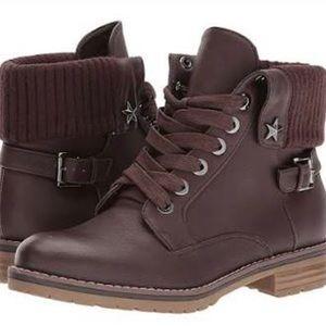 Tommy Hilfiger Oranda2 Leather Combat Boots